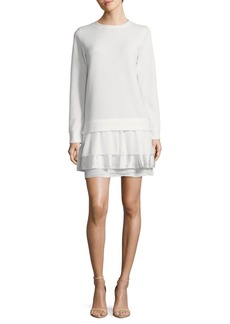 French Connection Tommy Textured Shift Dress