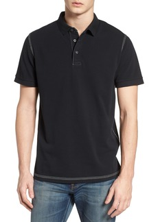 French Connection Triple Stitch Slim Fit Polo