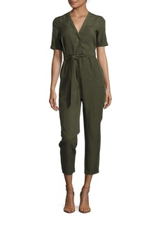 French Connection Trooper Solid Jumpsuit