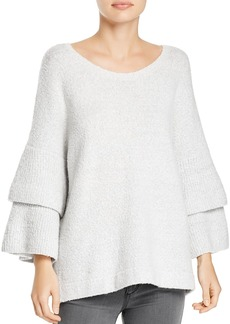 French Connection Urban Flossy Tiered-Sleeve Sweater