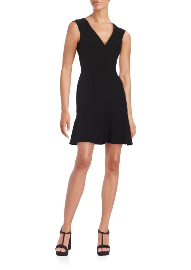 7e36cf0c1fc French Connection French Connection V-Neck Flounce Dress