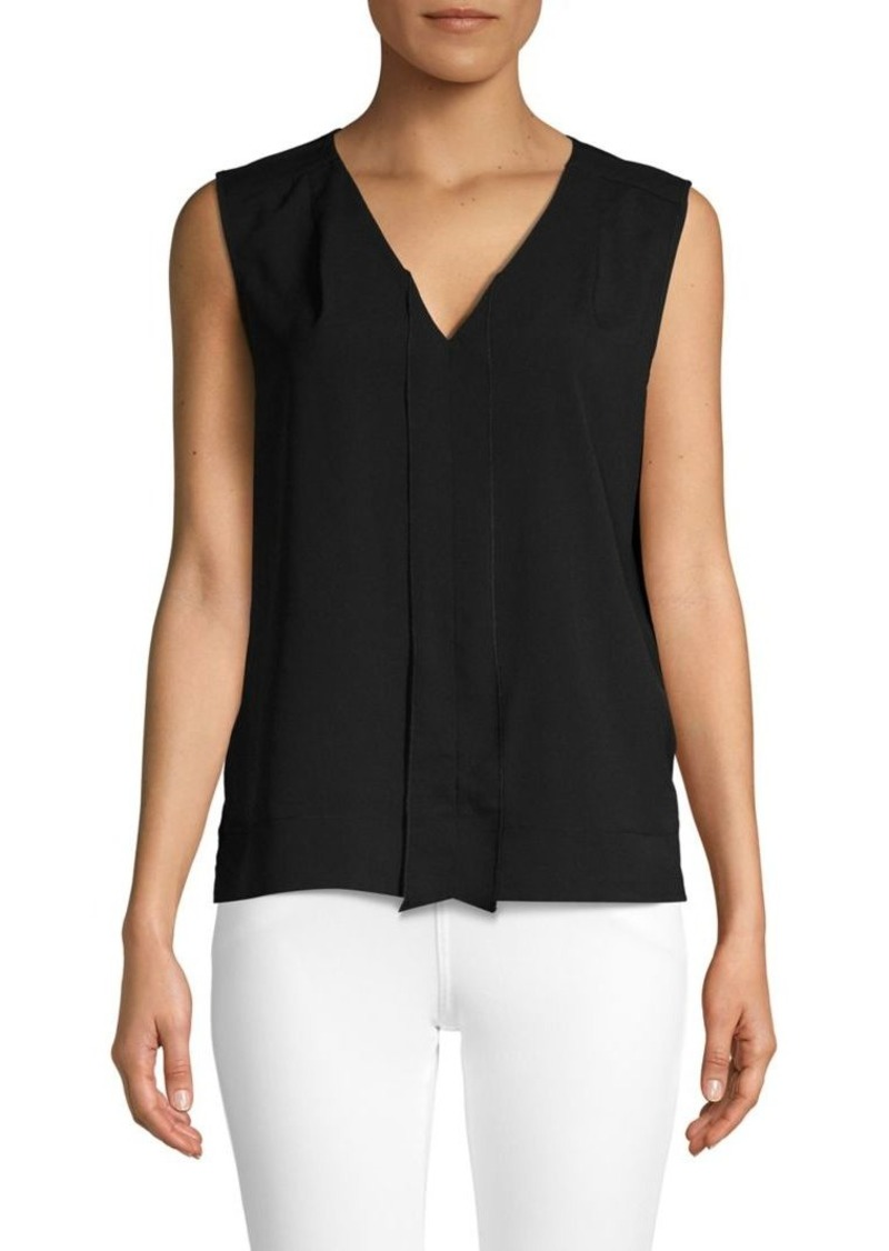 French Connection V-Neck Sleeveless Top