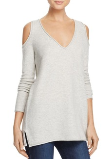 FRENCH CONNECTION Venture Vhari Cold-Shoulder Sweater