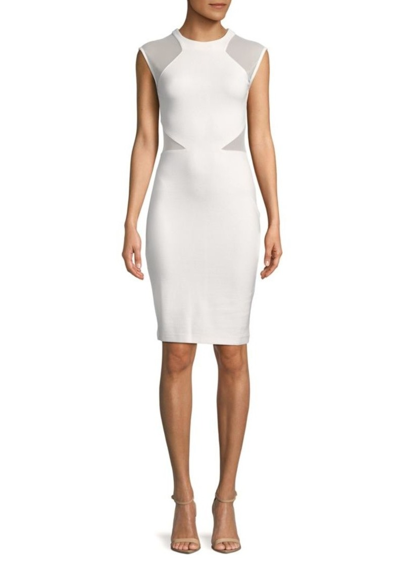 French Connection Viven Panelled Bodycon Dress
