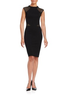 French Connection Viven Two-Tone Sheath Dress