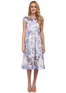 French Connection Water Garden Sheer Dress