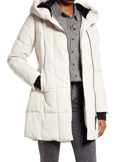 French Connection Water Repellent Puffer Coat