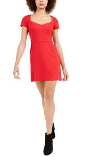 French Connection Whisper Cap-Sleeve Dress