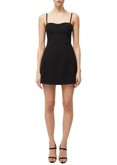 French Connection Whisper Cutout Tie Back Minidress