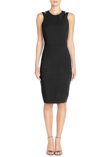 French Connection 'Whisper Light' Cutout Midi Dress