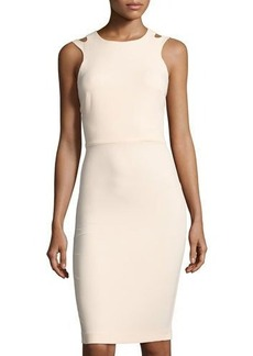 French Connection Whisper Light Cutout Sheath Dress