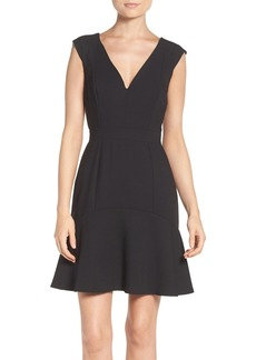 French Connection Whisper Light Knit Trumpet Dress