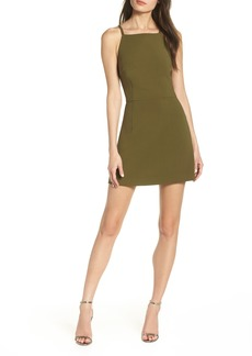 French Connection Whisper Light Sheath Minidress