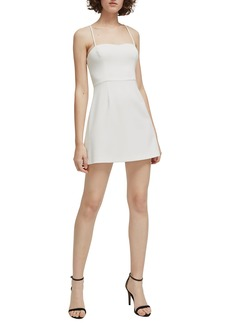 French Connection Whisper Light Sweetheart Minidress