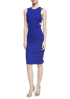 French Connection Whisper Lula Cutout Dress