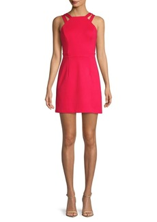 French Connection Whisper Lula Sleeveless A-Line Dress