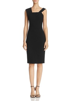 French Connection Whisper Ruth Asymmetric-Shoulder Dress