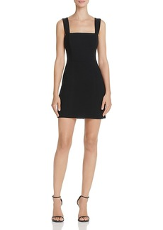 French Connection Whisper Ruth Cage-Back Mini Dress