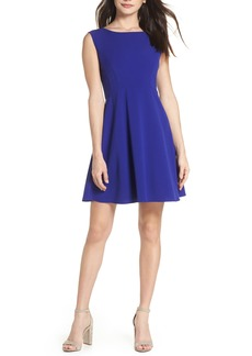 French Connection Whisper Ruth Fit & Flare Dress