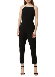 French Connection Whisper Sleeveless Squareneck Jumpsuit