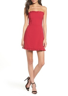 French Connection Whisper Strapless Minidress