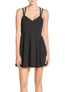 French Connection Whisper Strappy Skater Dress