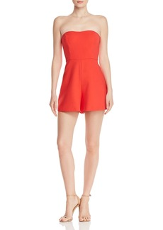 FRENCH CONNECTION Whisper Sweetheart Romper