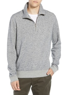 French Connection Winning Quarter Zip Regular Fit Sweatshirt