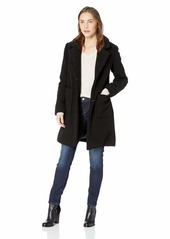 French Connection Women's 3/4 Faux Shearling Coat  L