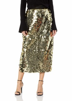 French Connection Women's All Over Sequin Skirts  S