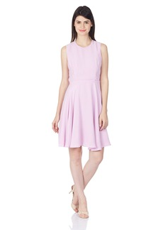 French Connection Women's Ana Crepe Fit and Flare Dress