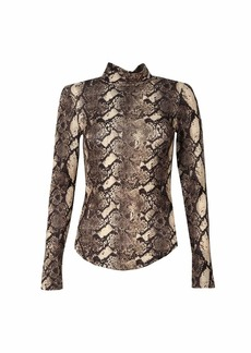 French Connection Women's Animal Print Top  XS
