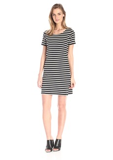 French Connection Women's Annie Stripe Short Sleeve Dress