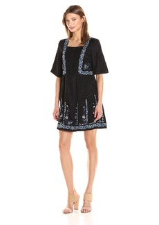 French Connection Women's Argento Stitch Dress