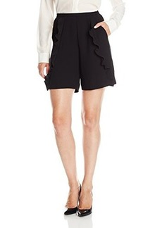 French Connection Women's Aro Crepe Shorts
