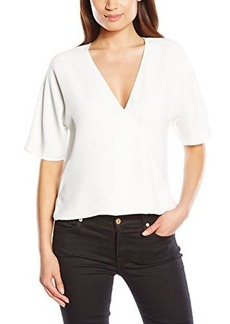 French Connection Women's Aro Crepe Top