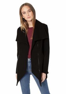 French Connection Women's Asymmetrical Hem Coat  XS