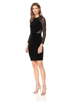 French Connection Women's Aurore Panel Long Sleeved Dress