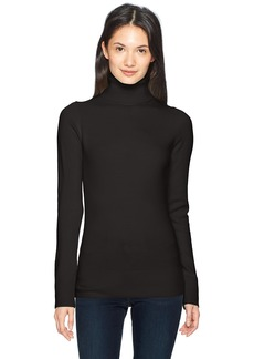 French Connection Women's Babysoft Long Sleeve Soft Solid Pullover Sweater Black TN S