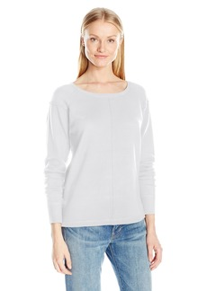 French Connection Women's Babysoft Long Sleeve Soft Solid Pullover Sweater  L
