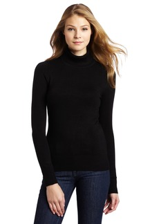 French Connection Women's Babysoft Solid Turtleneck Sweater