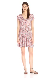 French Connection Women's Bacongo Daisy Jersey Dress