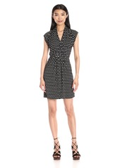 French Connection Women's Bacongo Daisy Tie Waist Dress