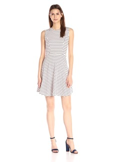 French Connection Women's Bacongo Dot Dress