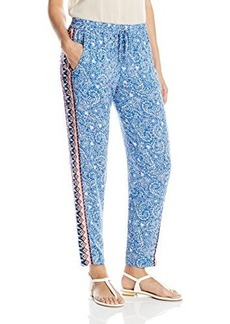 French Connection Women's Bali Batik Drape Pant