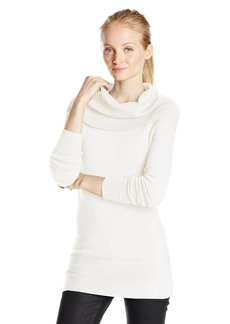 French Connection Women's Bambi Solid Cowl Neck Sweater