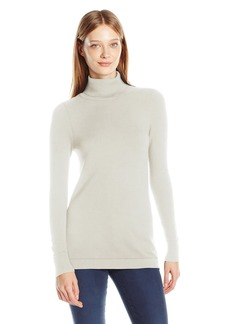 French Connection Women's Bambi Solid Turtleneck  M