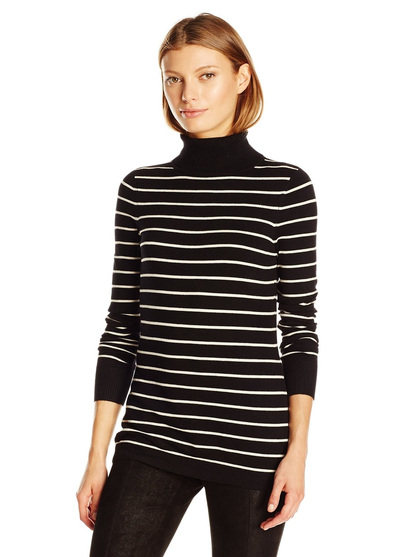 7286087d129 French Connection French Connection Women s Bambi Stripe Turtleneck ...
