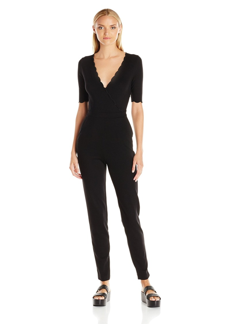 92bf6d0837c SALE! French Connection French Connection Women s Beau Scallop Jumpsuit