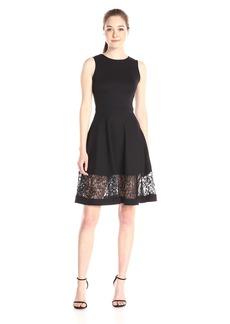 French Connection Women's Beau Viscose Dress black